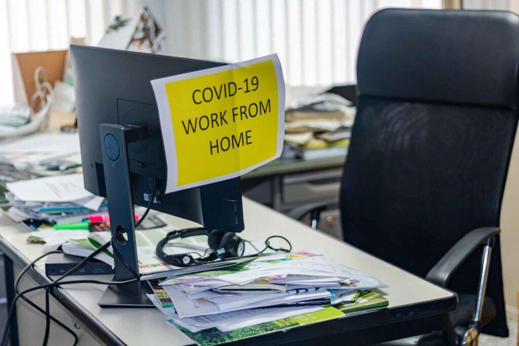 covid19 arbetar hemifrån